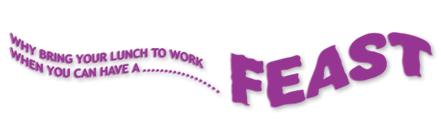 Feast Sandwich Vans Logo